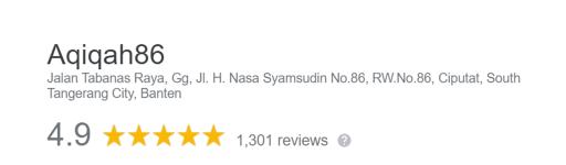 aqiqah86-rating